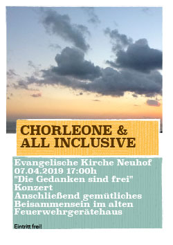 CHORLEONE & ALL INCLUSICE